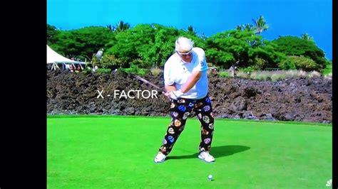 x factor golf swing x factor in the golf swing youtube