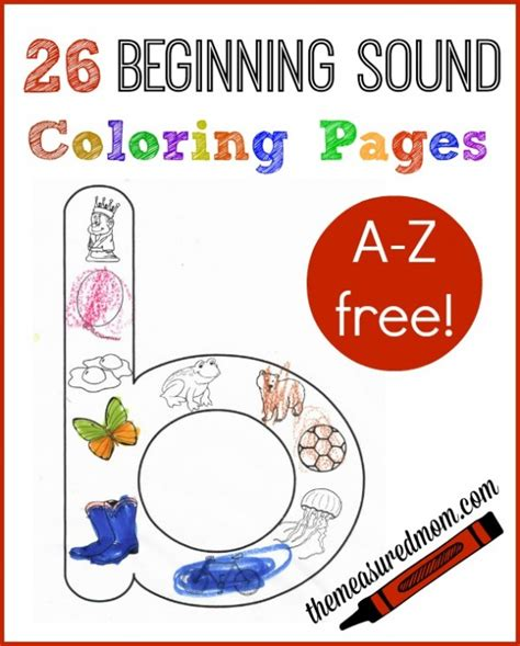 alphabet sounds coloring pages free beginning sounds worksheets the measured mom