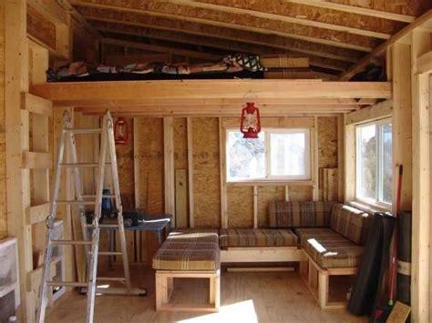 shed roof cabin  loft google search cabin loft