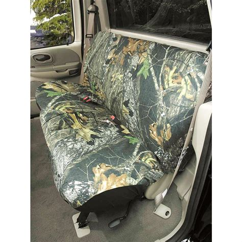 mossy oak bench seat cover hatchie bottom 174 universal bench seat cover 154825 seat