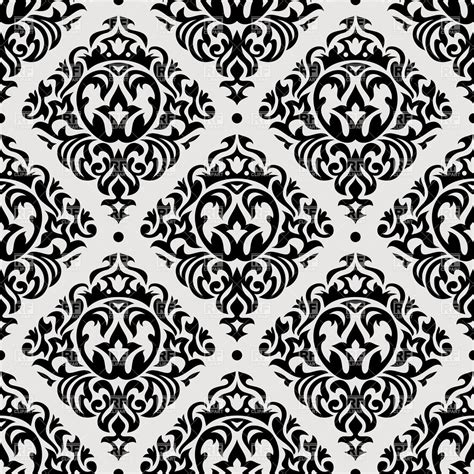 vintage pattern black and white vector vintage seamless pattern royalty free vector clip art