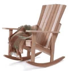 rustic rocking chair kit athena adirondack rocker kit