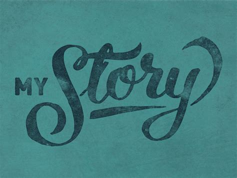 my story my story by mike jones dribbble