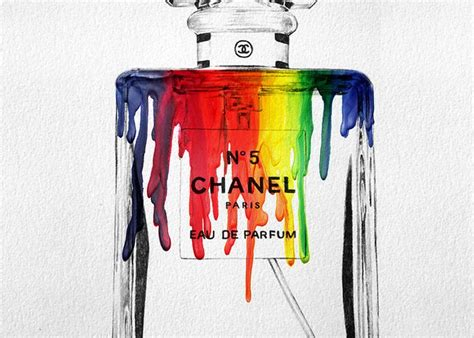 Chanel Gift Card - chanel perfume bottle greeting cards fine art america
