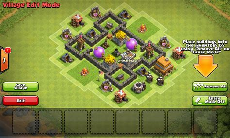 layout in coc th4 th4 base trophy quotes