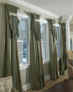 Beautiful Window Curtains Decorating Custom Drapery Parda Curtain Rods Large Window Treatments And Large Windows