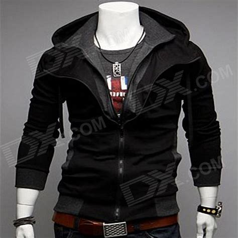 Jaket Korean Blazer 20 Grayscale Size S Xl casual hooded jacket for black grey size xl