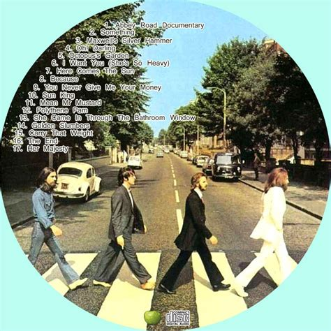 Cd The Beatles One Deluxe Dvd Imported Usa 散歩道 自作dvdラベル road