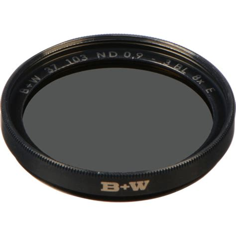 B W 52mm Nd 0 9 8x Sc 103 b w 37mm sc 103 solid neutral density 0 9 filter 65 045593 b h