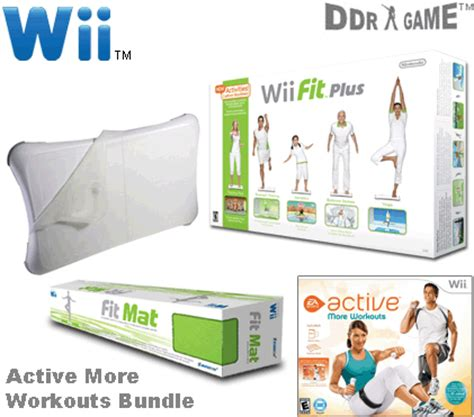Wii Active Mat by Nintendo Wii Ea Sports Active More Workouts Fitness