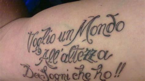 voglio volere ligabue testo i tatuaggi con le frasi di ligabue pi 249 e significative