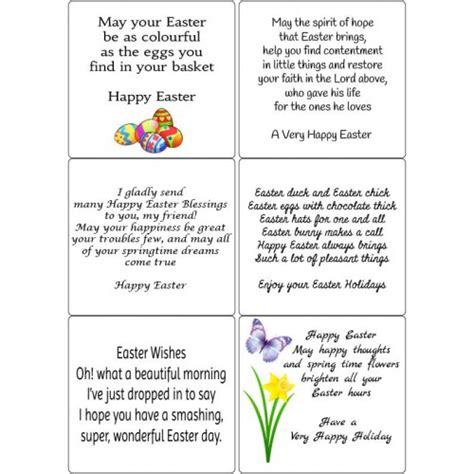 Free Verses For Handmade Cards - peel easter verses 2 sticky verses for handmade
