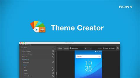 Theme Creator Z3 | tool sony s theme creator android development and hacking