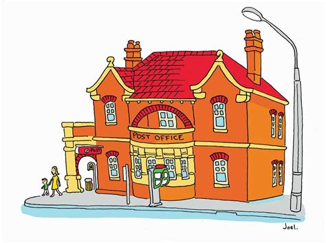 Annandale Post Office by Joel Tarling Illustrations For A Free Community