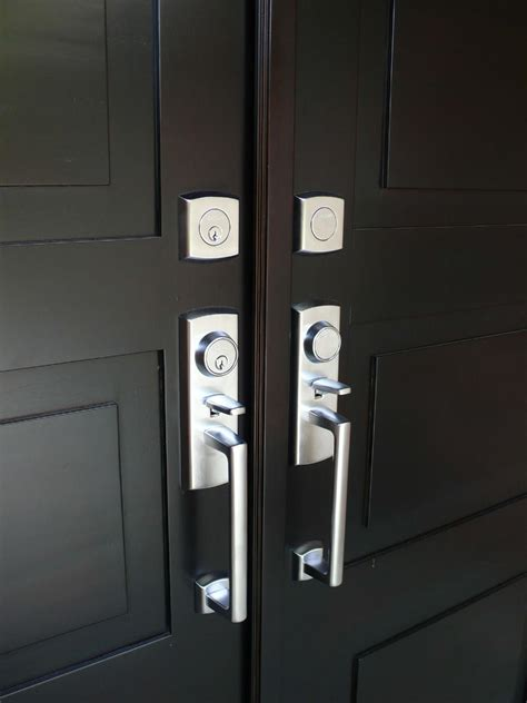 Modern Front Door Locks Modern Exterior Door Hardware Myfavoriteheadache