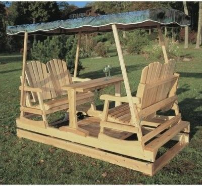wooden glider swings rustic natural cedar deluxe wooden outdoor double glider