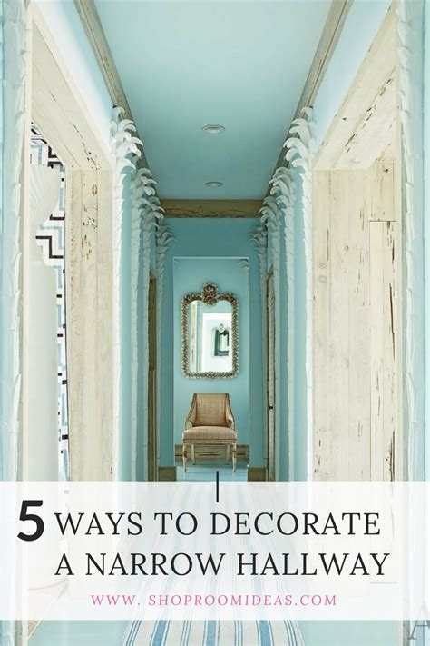 Decorating A Hallway Entrance by 5 Ways To Decorate A Narrow Hallway Shoproomideas