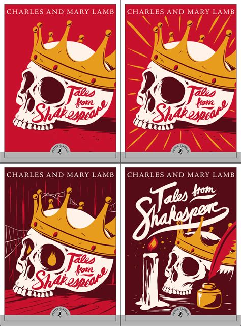 Puffin Classics puffin classics tales from shakespeare book cover on behance