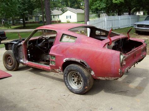 find used 1967 ford mustang fastback c code disc brake and 1967 coupe parts car in jonesboro