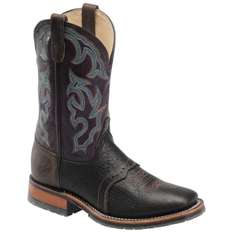 h boots s s h boots 174 wide square toe ice roper boots