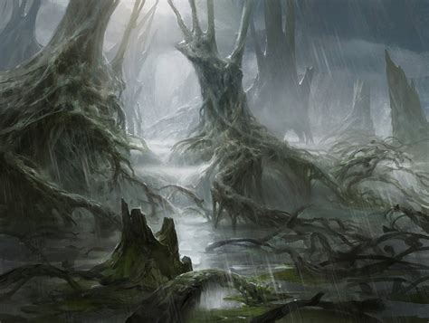 swamp by adampaquette on deviantart