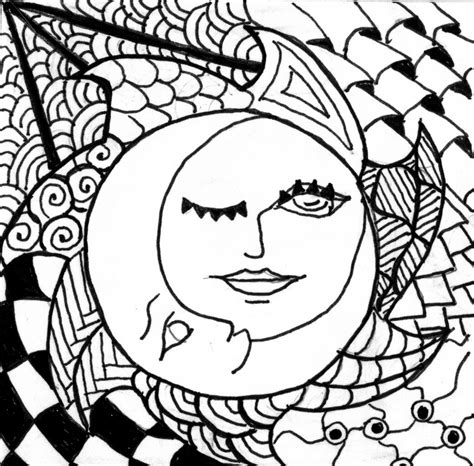 Free Half Sun Coloring Pages Sun And Moon Coloring Pages