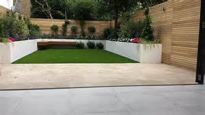 Patio Beds by Travertine Paving Patio Render Block Raised Beds Hardwood