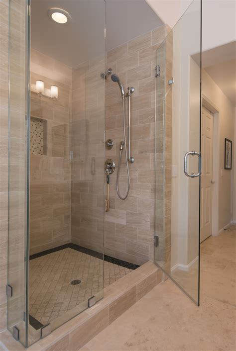 contracted bathroom design bathroom glass shower design ideas for contemporary