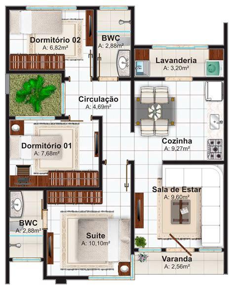 fazer plantas de casas plantas de casas at 233 100m2 3 modelos