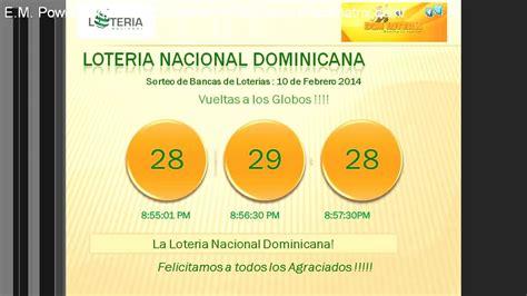 comprobar loteria nacional resultados de lotera nacional sorteo de bancas de loterias loteria nacional