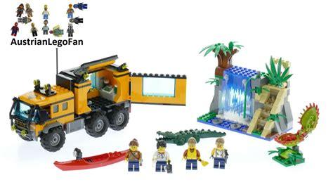 Lego City 60160 Jungle Mobile Lab lego city 60160 jungle mobile lab lego speed build review