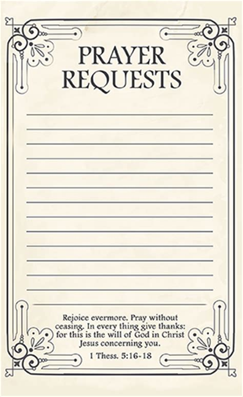blank prayer card template for word free printable prayer request forms time warp