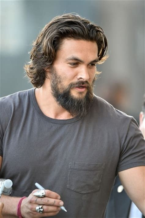 pictures of ethnic futuristic haircut for men jason momoa photos photos jason momoa heads to jimmy