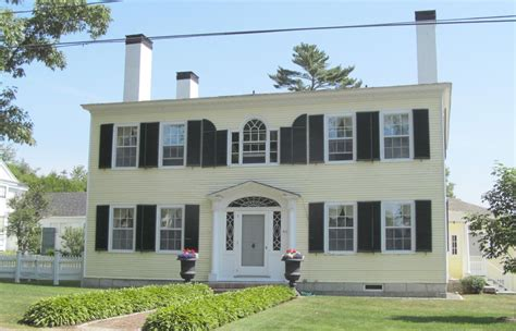 federal style home federal style house photo penobscot bay press