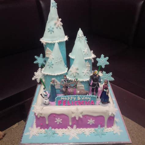 jual kue ultah frozen ungu harga murah jakarta oleh khena cake