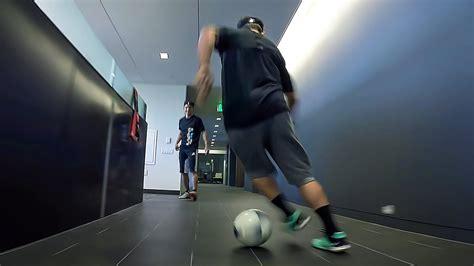 gopro office soccer sport