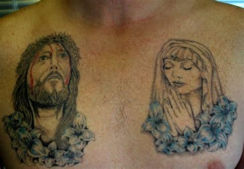 tattoo mary jesus 15 holy christian tattoos