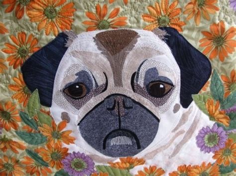 pug quilt 1000 images about dogs and cats quilts on block of the month patterns