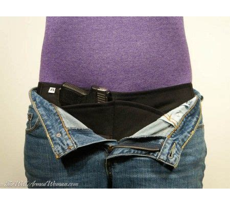 by the well armed woman in the waistband holster the well armed woman pistol pouch by thunderwear great
