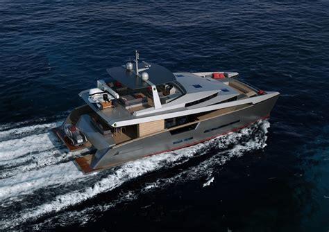 aluminium catamaran yacht new revolutionary panama 62 catamaran by alu marine
