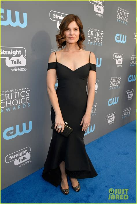betsy brandt at critics choice awards los angeles best actress nominees sutton foster constance wu get