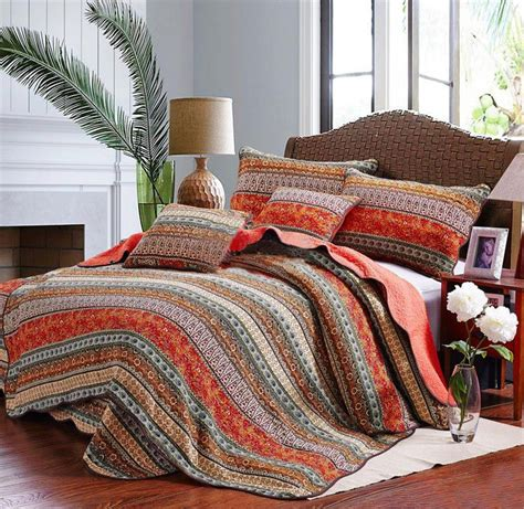 Quilted Bedspreads Sale Multicolor Comforters And Quilts Sale Ease Bedding With