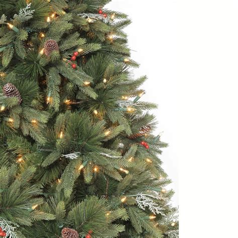 martha stewart living slim christmas tree martha stewart living 9 ft andes fir set slim artificial tree with 900 clear