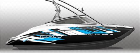 Yamaha Boat Graphics Ipd Jet Ski Graphics Jet Ski Wrap Templates