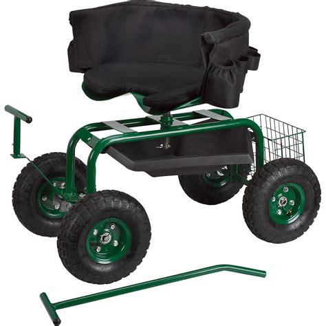 garden cart with seat home depot details about step 2 garden hopper wheeled seat cart w