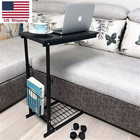 adjustable table with wheels micoe height adjustable with wheels sofa side table slide