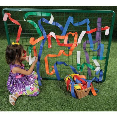 garden state academy preschool of the arts outdoor weaving frame
