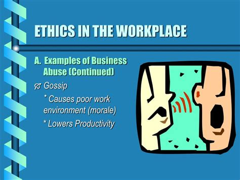 ppt ethics in the workplace powerpoint presentation id 310429