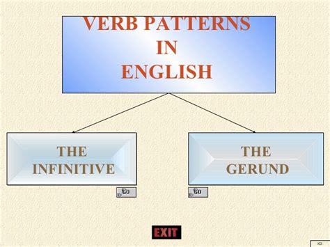 verb pattern là gì verb patterns in english