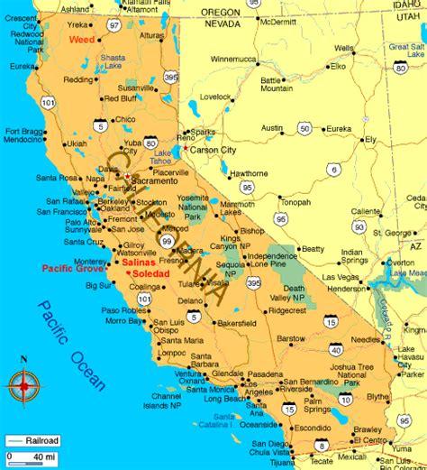 calif map swisseduc literary maps usa